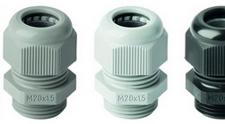 Cable glands made of polyamide