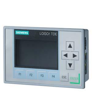 LOGO TD, текстовы дисплей, 6-строчный, 3 цвета подсветки, 2 порта Ethernet, установочные принадлежности для LOGO 8