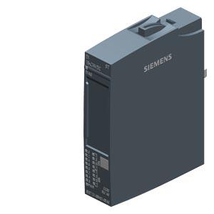 SIMATIC ET 200SP, модуль дискретных входов, DI 16x 24V DC ST, со стандартными функциями, тип 3 (IEC 61131), вход PNP, (sink, P-reading), упаковка из 1 шт., для установки на базовый блок типа A0, цветовой код CC00, входная задержка 0,05..20 мс, диагностик