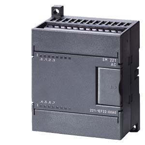 SIMATIC S7-200, EM 221, МОДУЛЬ ВВОДА ДИСКРЕТНЫХ СИГНАЛОВ ДЛЯ CPU 222/ CPU 224/ CPU 226/ CPU 226XM: ОПТИЧЕСКОЕ РАЗДЕЛЕНИЕ ВНЕШНИХ И ВНУТРЕННИХ ЦЕПЕЙ, 8 ВХОДОВ ~120/230В